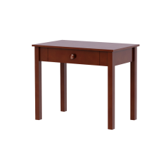 Solid hardwood study desk with 1 drawer, maxtrix or maxwood furniture, by Bunk Beds Canada of Vancouver.
