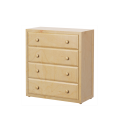 Dresser - Modular Design - 4 Drawers - 3843 - Natural
