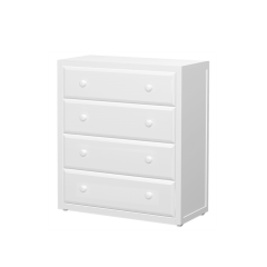 Dresser - Modular Design - 4 Drawers - 3843 - White