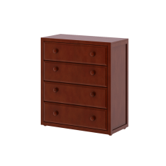 Dresser - Modular Design - 4 Drawers - 3843 - Chestnut