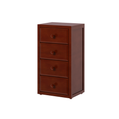 Dresser - Modular Design - 4 Drawers - 2343 - Chestnut