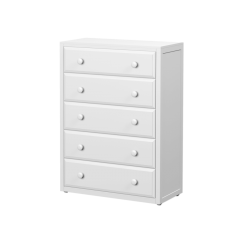 Dresser - Modular Design - 5 Drawers - 3852 - White