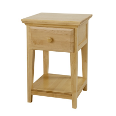 Nightstand - Modular Design - 1 Drawer - 1826 - Natural