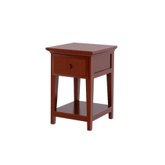 Nightstand - Modular Design - 1 Drawer - 1826 - Chestnut