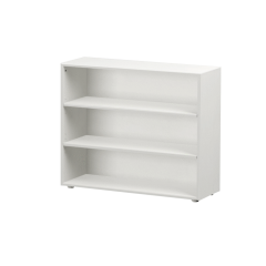 Bookcase - Modular Design - 3 Shelf - 3832 - White
