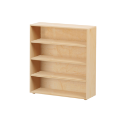Bookcase - Modular Design - 4 Shelf - 3843 - Natural