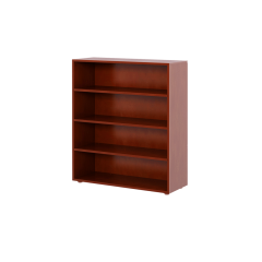 Bookcase - Modular Design - 4 Shelf - 3843 - Chestnut