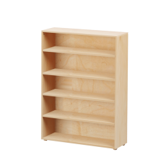 Bookcase - Modular Design - 5 Shelf - 3852 - Natural