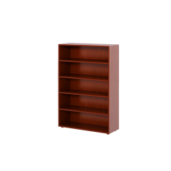 Bookcase - Modular Design - 5 Shelf - 3852 - Chestnut