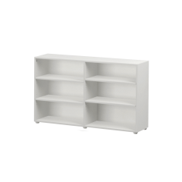 Bookcase - Modular Design - 6 Shelf - 5332 - White