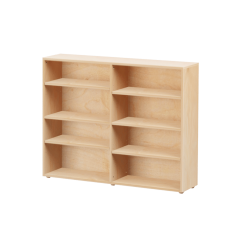 Bookcase - Modular Design - 8 Shelf - 5343 - Natural