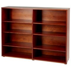 Bookcase - Modular Design - 8 Shelf - 5343 - Chestnut