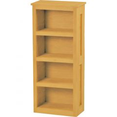 Solid Wood Loft Bookcase - Cottage Collection - Classic