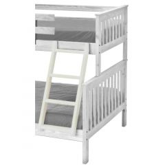"Solid Wood Ladder - Cottage Collection - 4711 - Angled - for 65"" H - Cloud"