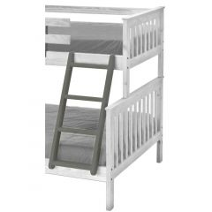 """Solid Wood Ladder - Cottage Collection - 4712 - Angled - for 72-73"""" H - Graphite"""