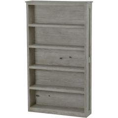 Solid Wood Bookcase - Cottage Collection - 4273 - Storm