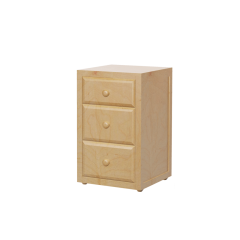 Nightstand - Modular Design - 3 Drawers - 1930 - Natural