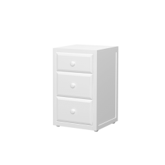 Nightstand - Modular Design - 3 Drawers - 1930 - White