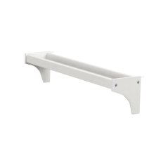 Long Bed Side Tray - Modular Design - White