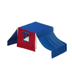 Top Tent  - Modular Collection - Frame White - Single - Blue/Red