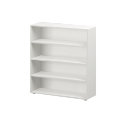 Bookcase - Modular Design - 4 Shelf - 3843 - White