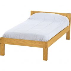 Solid Wood Platform Bed - Junior Design - 2716 - Single - Classic
