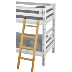 "Solid Wood Ladder - Cottage Collection - 4710 - Angled - for 72-73"" H - Classic"