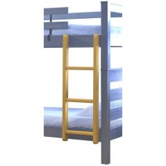 "Solid Wood Ladder - Cottage Collection - 4719 - Vertical - for 65"" H - Classic"
