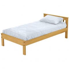 Solid Wood Platform Bed - Mission Design - 2917 - Single - Classic