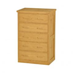 Solid Wood Chest - Cottage Collection - 5 Drawers - Classic