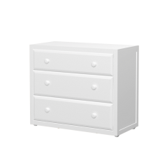 Dresser - Modular Design - 3 Drawers - 3832 - White