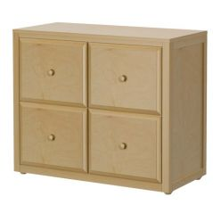 Cube Unit - Modular Design - 4 Drawers - 3832 - Natural
