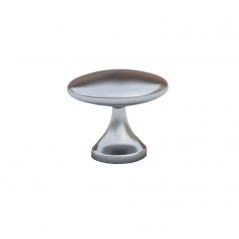 Knob - Modular Design - Brushed Steel