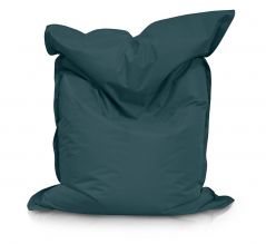 Image of a Large Bean Bag Chair in Forest Color in modern rectangular shape, fatboy style, by Bunk Beds Canada.