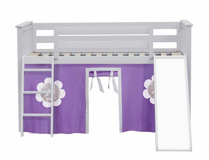 Loft Bed With Curtain Slide By Bunk, Loft Bed Curtains Canada
