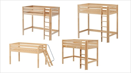 4 Loft Bed Heights