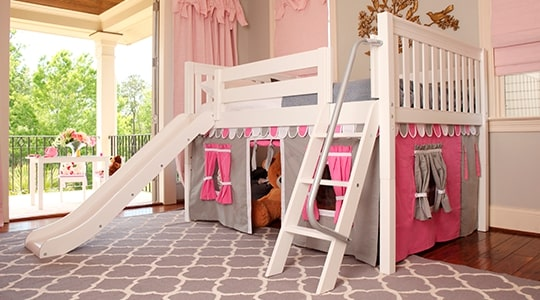 Turn your Day Bed to Low Loft Bed