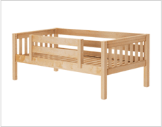 Daybed with Front Guardrail