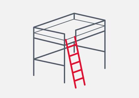 3. Angled Ladder